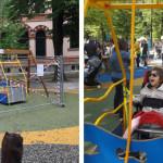 Il caso dell'altalena ai Giardini Montanelli: la testimonianza di un papà