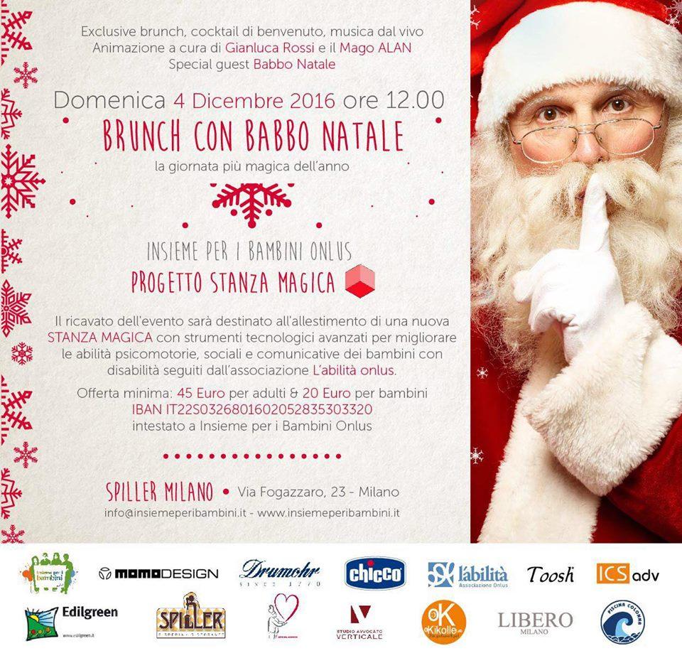 Descrizione Di Babbo Natale Per Bambini.Un Brunch Con Babbo Natale L Abilita Associazione Onlus
