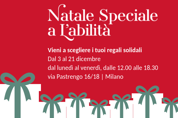 Speciale Natale.Natale Speciale A L Abilita L Abilita Associazione Onlus